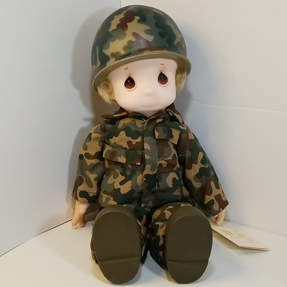"""Precious Moments """"I'm In The Lord's Army"""" Doll"""